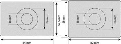 Размеры электронной визитки