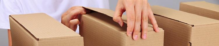 Коробка картонная (микрогофра)