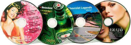 Нанесение и печать изображений на CD и DVD дисках